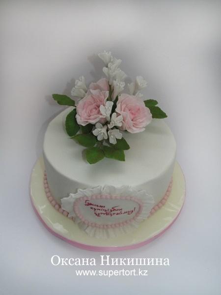 Торт Нежный букет