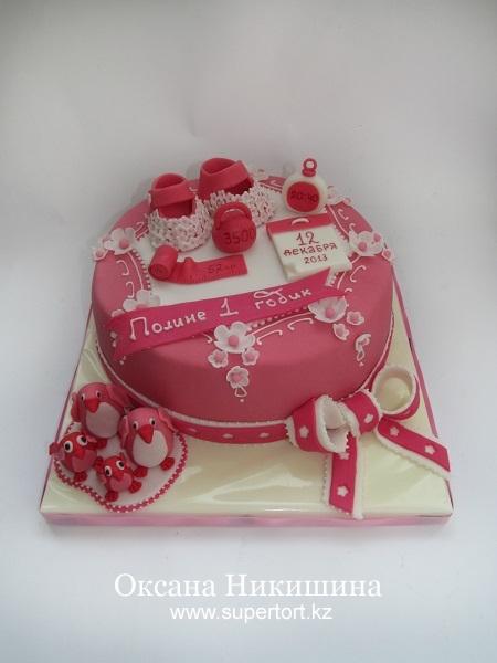 Торт Розовое чудо