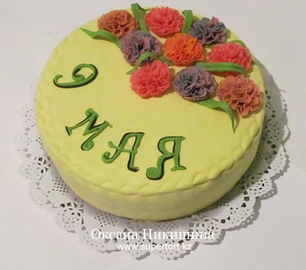 Торт С Днем Победы