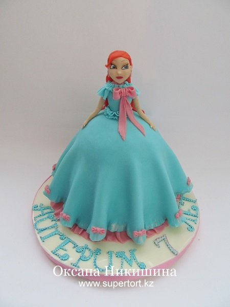 Торт Фея Винкс Блум