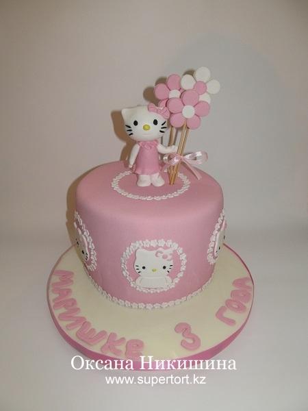 Торт Китти для Маришки