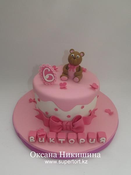 Торт Мишутка для Вики