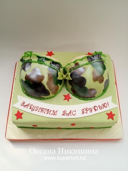 Торт Защитим вас грудью