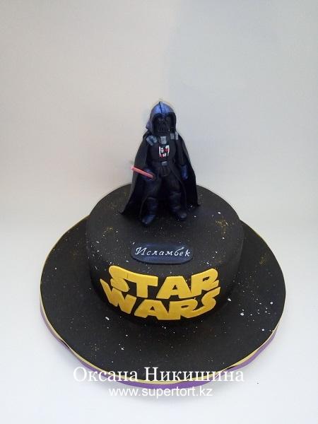Торт Darth Vader. STAR WARS