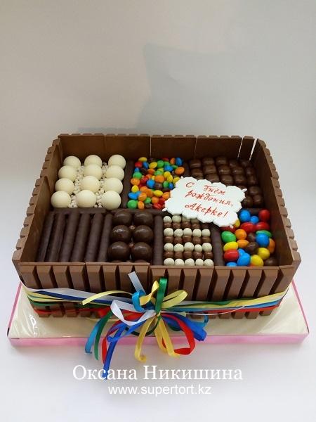 Торт Шоколадный фейерверк