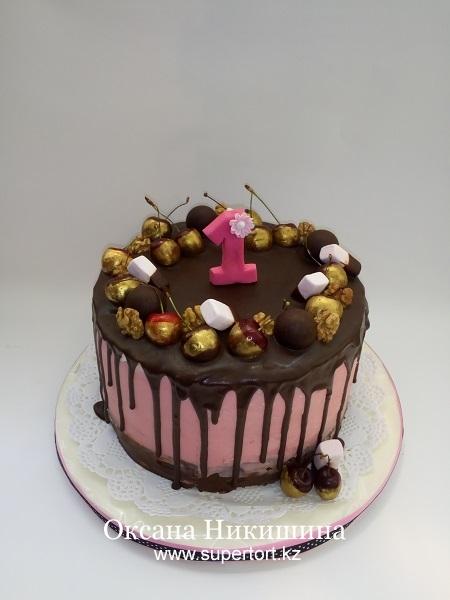 Торт Золотая черешня