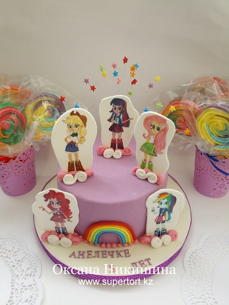 "Мини Candy bar  ""Equestria Girls"""
