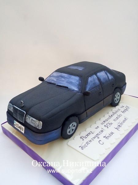 Торт  Mercedes-Benz