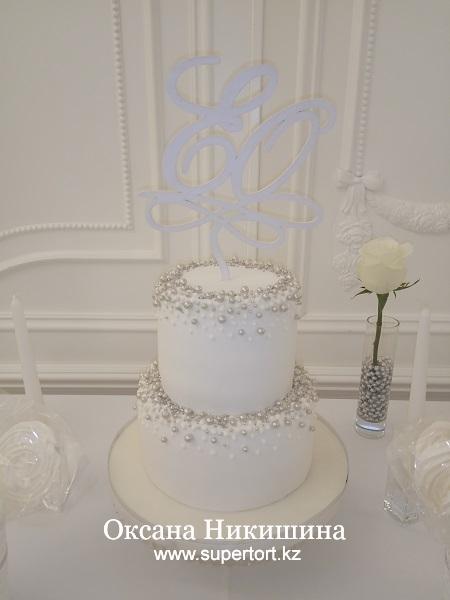 """Свадебный торт """"Невеста"""""""