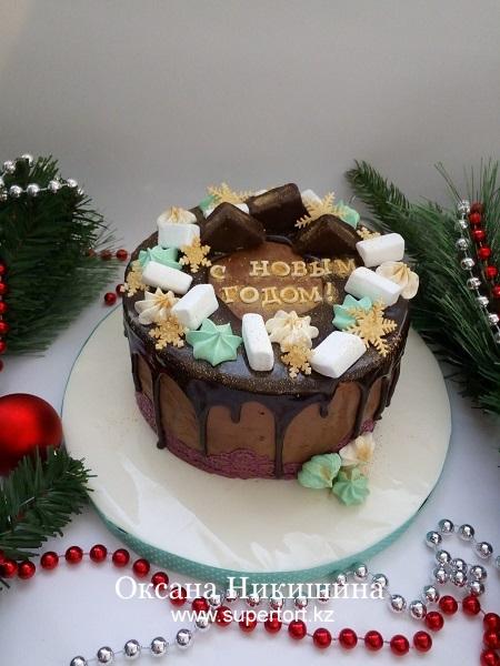 """Торт """"С новым годом!"""""""