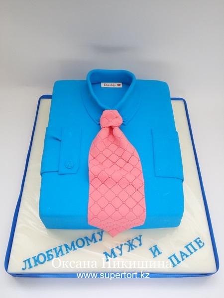 """Торт """"Рубашка для любимого"""""""