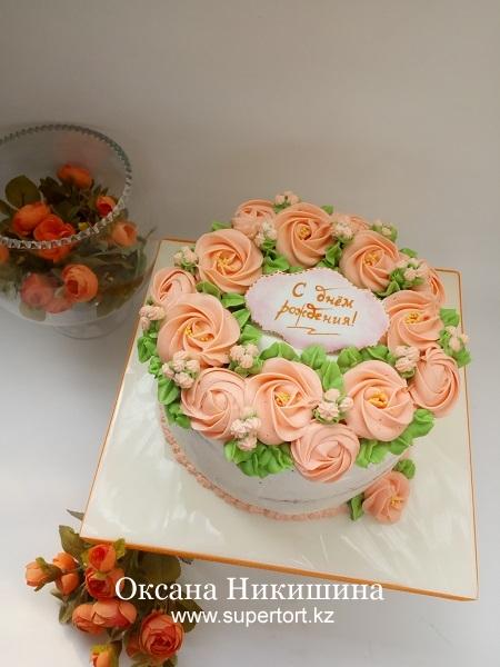 """Торт """"Весна в сердце"""""""