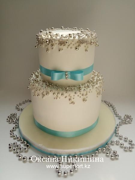 """Свадебный торт """"Милая невеста"""""""