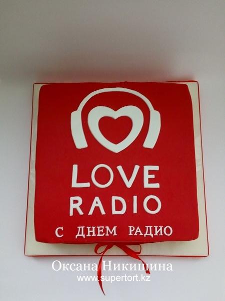 """Торт """"С Днем Радио"""""""