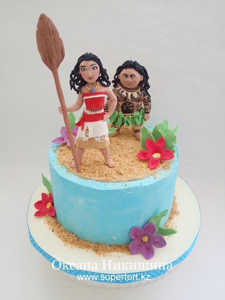 "Торт ""Моана"""