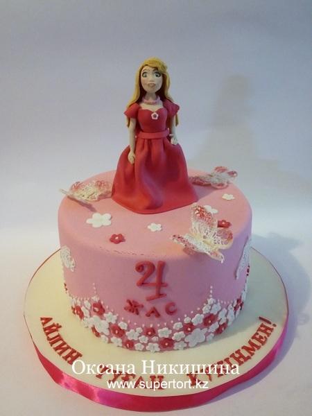 """Торт """"Для принцессы Айлин"""""""