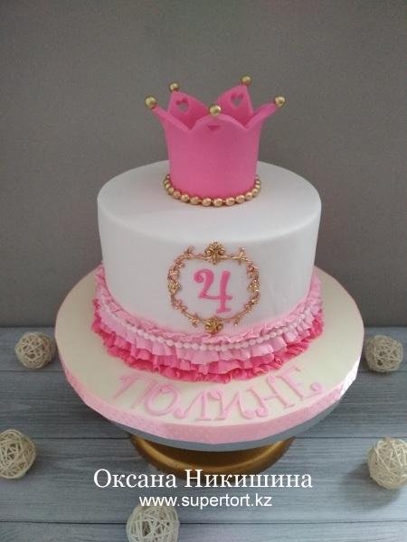 """Торт """"Моя милая принцесса"""""""