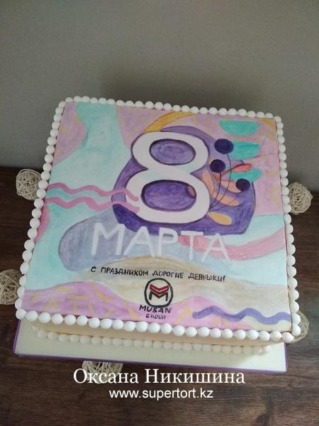 """Торт """"8 Марта!"""""""