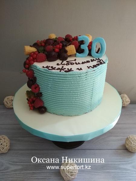 Торт «Ягоды для любимого»