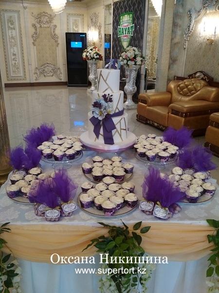 """Сладкий стол """"Violet"""""""