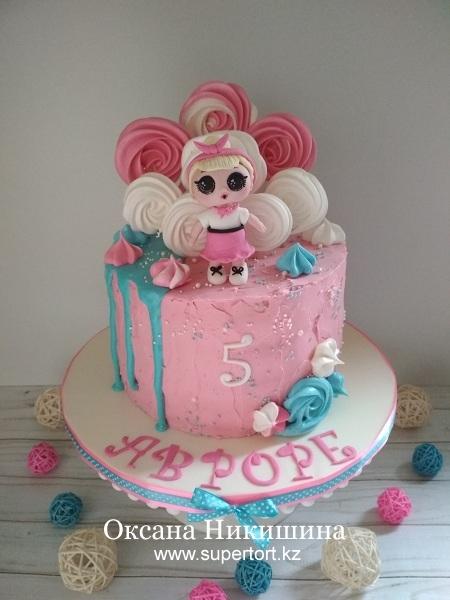 """Торт """"Моя любимая кукла"""""""