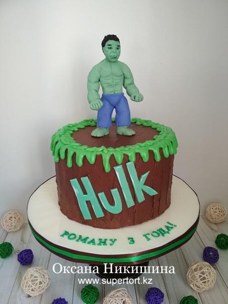 "Торт ""Hulk"""