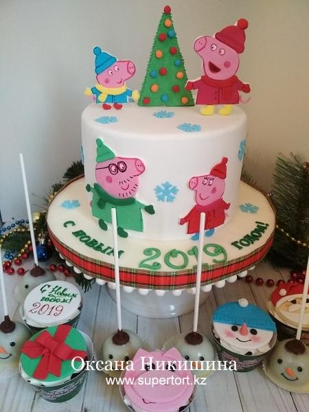 "Торт ""Свинка Пеппа"""
