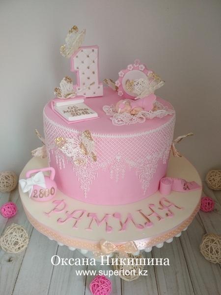 """Торт """"Рамине 1 год"""""""