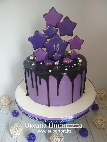 "Торт ""Яркая звезда"""